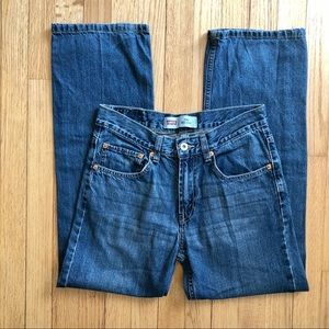 Levi's 550 relaxed fit straight leg jeans